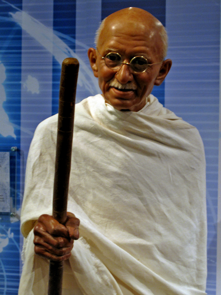 essays in sanskrit on mahatma gandhi