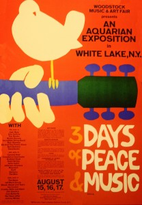 The Original Woodstock Music Festival in 1969 (Essay Evidence)