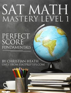 SAT Math Mastery Level 1 eBook