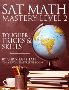 SAT Math Mastery Level 2 e-book
