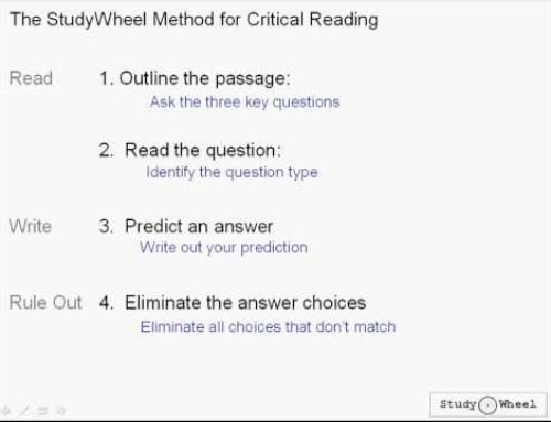 SAT Critical Reading Passages Lesson 3