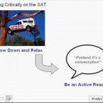 SAT Critical Reading Passages Lesson 1